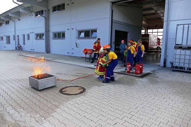 Ferienprogramm in Kirchzarten bei der Feuerwehr endete mit Fehlalarm