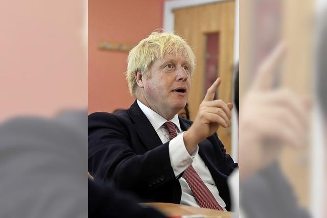 Wenige Optionen für Boris Johnson
