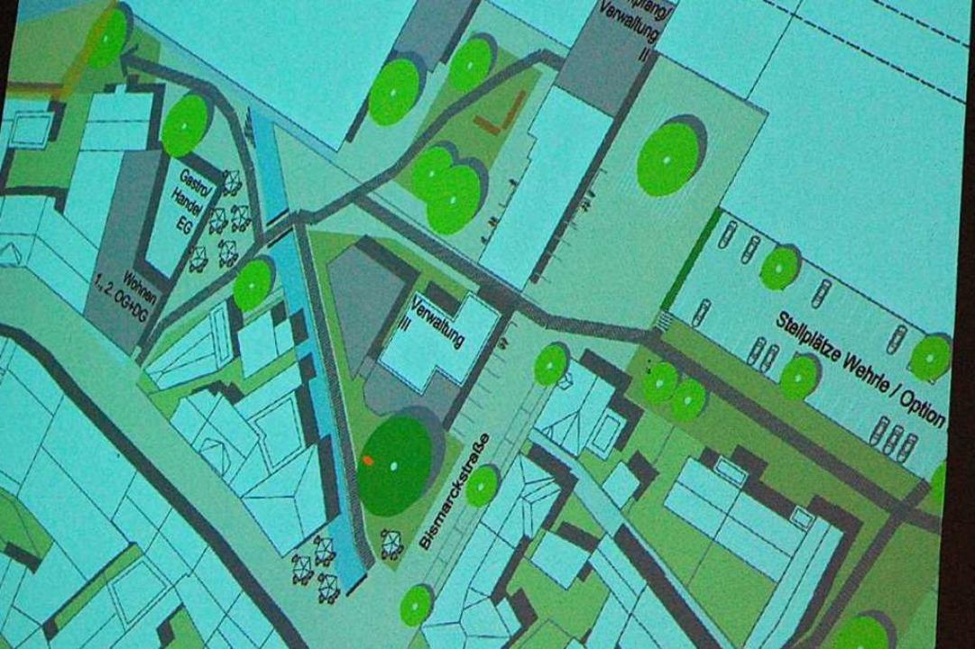 Ausschnitt aus der Konzeptstudie des W...s mit Lösungen auf dem eigenen Gelände  | Foto: Sylvia-Karina Jahn