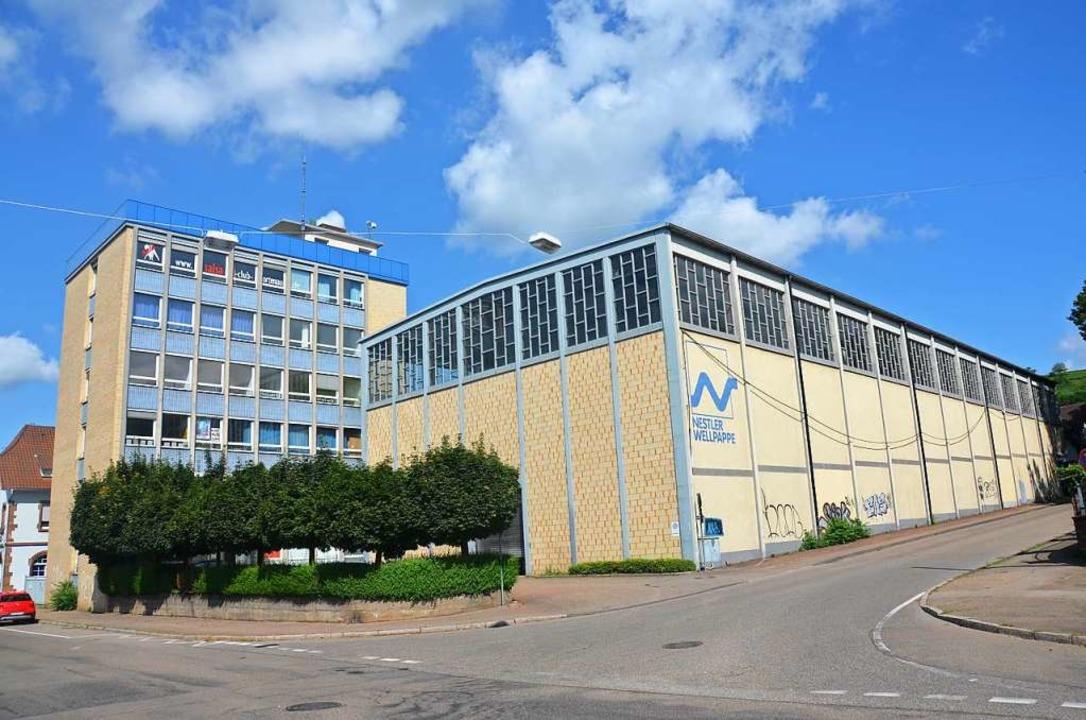 Die bestehenden Betriebsgebäude von Ne...d durch acht Neubauten ersetzt werden.  | Foto: Christian Kramberg