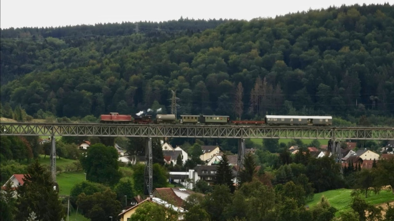 Die Lok 20 wurde ins Kandertal überführt.  | Foto: Willi Sulzmann