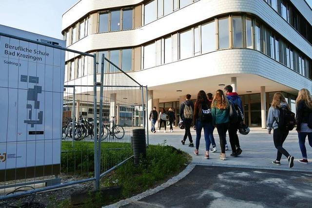 500 Schüler starten an beruflicher Schule in Bad Krozingen