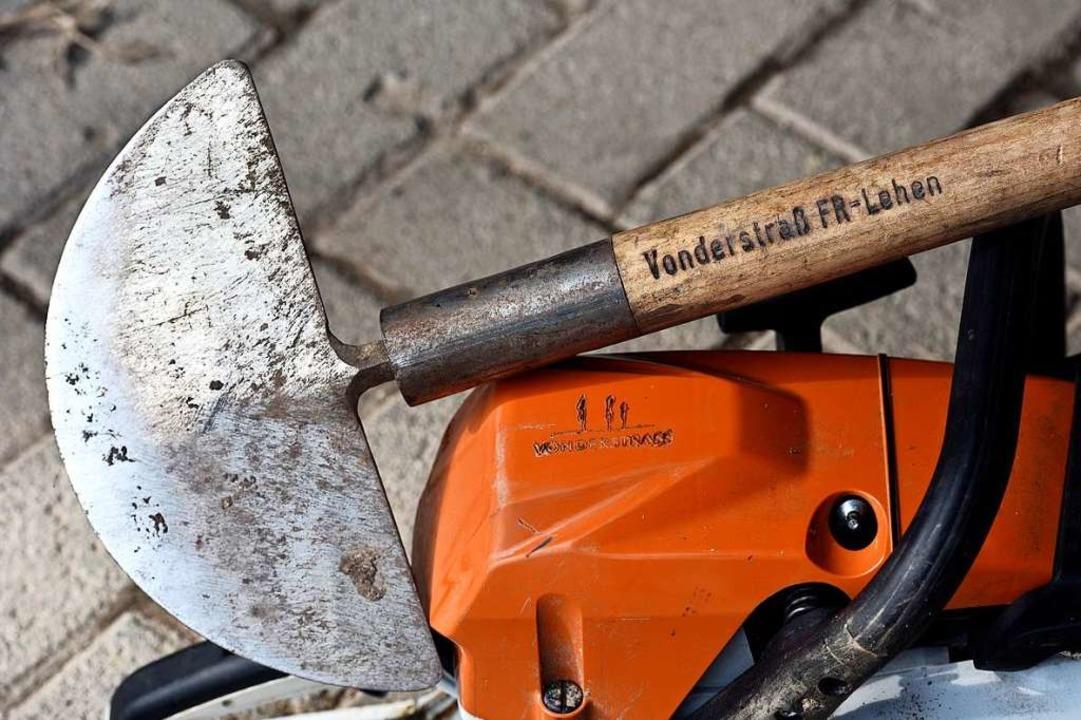 So wie diese zurückgelassenen Arbeitsg...ch die gestohlenen eindeutig markiert.  | Foto: Thomas Kunz