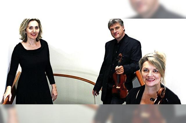 Das Sternwald-Trio konzertiert im Tuniberghaus in Freiburg-Tiengen