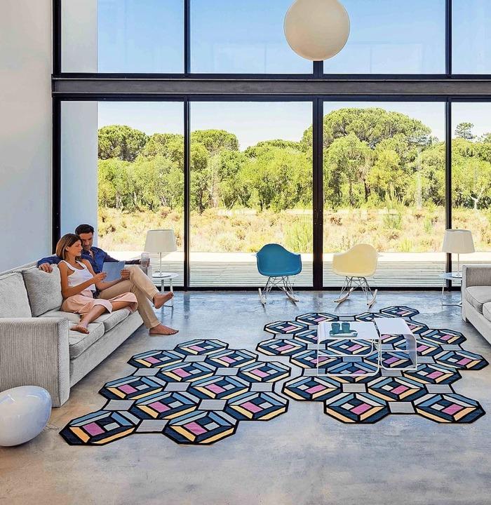 Nicht etwa die Couch oder andere Möbel...eppich bestimmt die Optik eines Raums.  | Foto: Luis Beltran