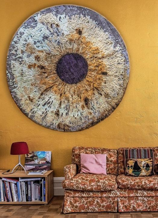 Wie ein Gemälde: Teppich als Wandschmuck  | Foto: RvZ Photography