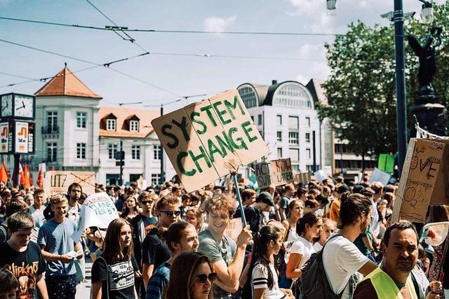 Klimabündnis will Freiburgs Demo-Rekord knacken
