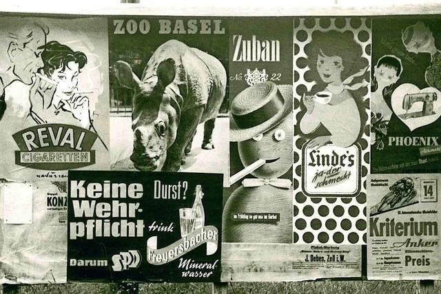 Plakate aus den 1950ern