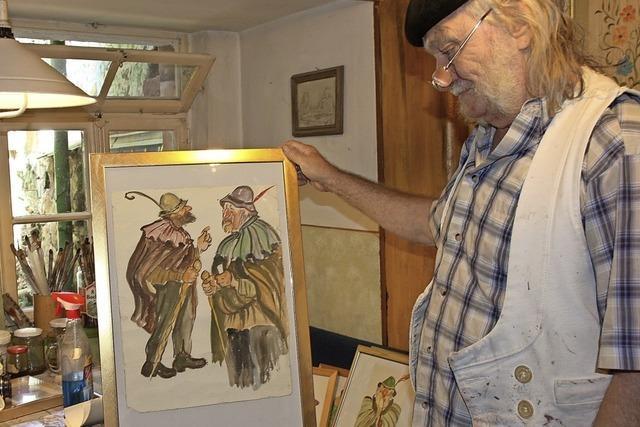 Riegels erster Kunstmaler