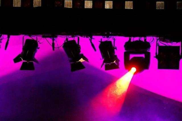 In der Auberghalle müssen die Träger für Licht- und Tontechnik erneuert werden