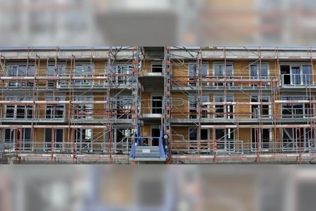 22 von 36 Wohnungen sind schon weg