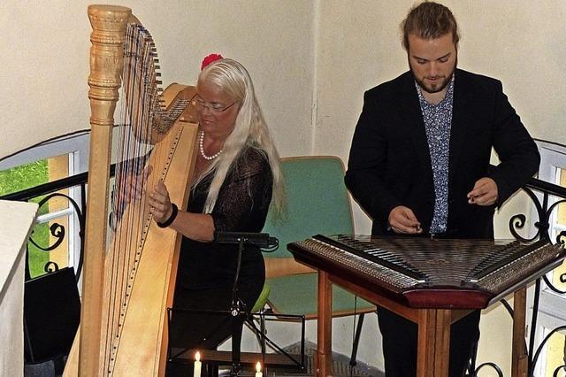 Harfe und Hackbrett