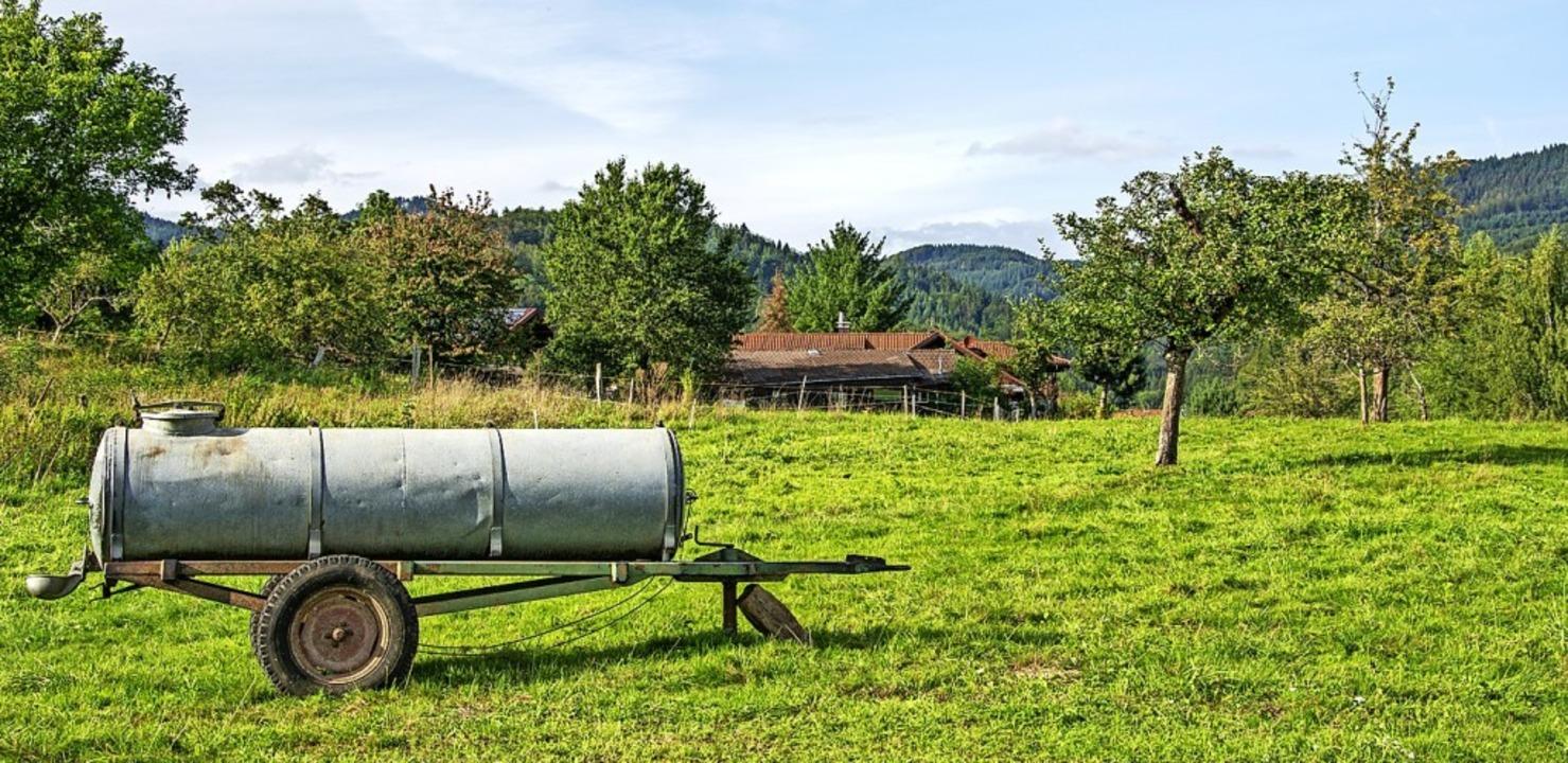 "Das Baugebiet Kaiden –  bald sch...namens ""Dolinenweg"" geben.    Foto: Paul Eischet"