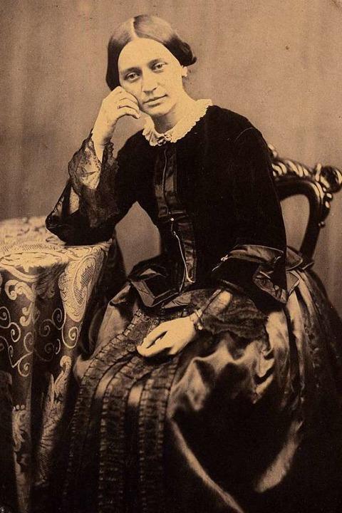 Clara Schumann (Salzpapier-Fotografie, 1854)  | Foto: Robert-Schumann-Haus Zwickau