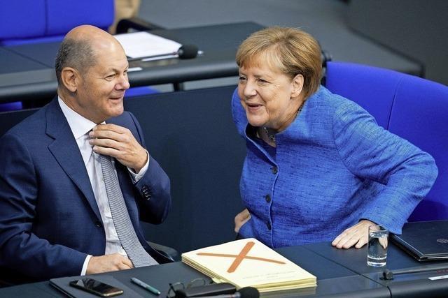 Im Bundestag läuft die bessere Talkshow