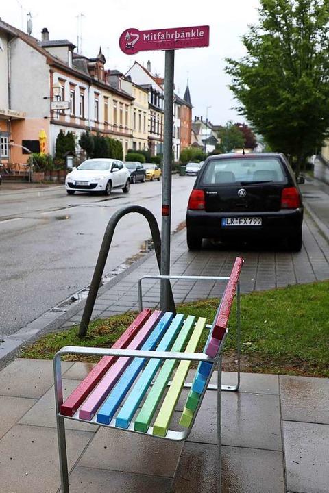 Das Bänkle in der Geroldsecker Vorstadt in Lahr    Foto: Christoph Breithaupt