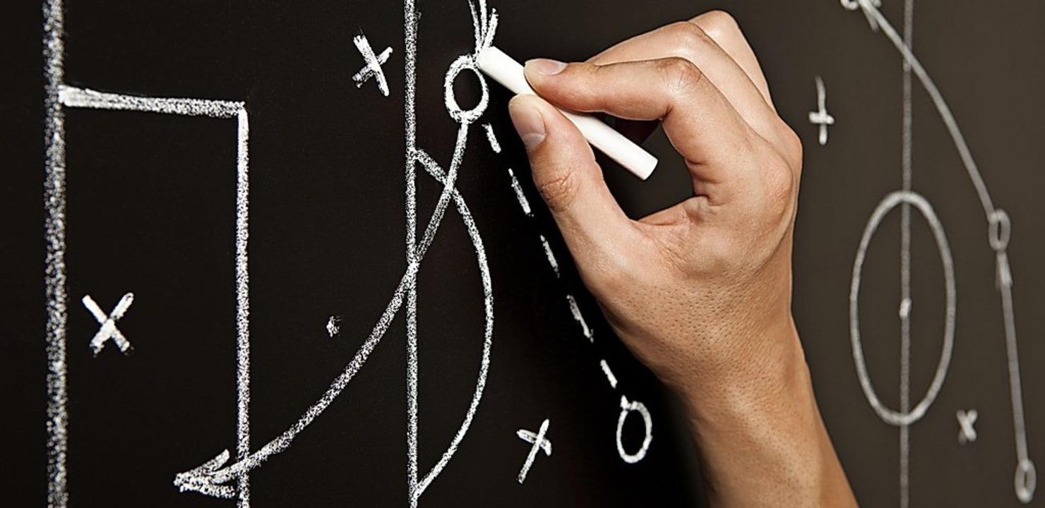Das Taktikbrett ist out,  Spielanalyse findet digital statt.  | Foto: Ivelin Radkov - stock.adobe.com