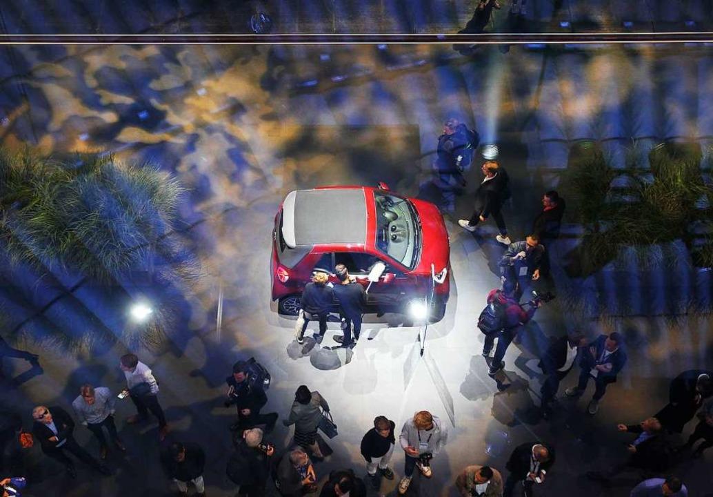 Welche Art von Auto wünschen sich die Menschen in der Zukunft?   | Foto: DANIEL ROLAND (AFP)