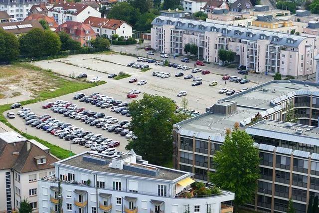 In wenigen Tagen ist Lörrachs größter Parkplatz Geschichte