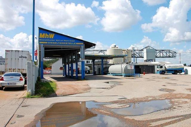 Mineralölhandel Weil am Rhein meldet Insolvenz an