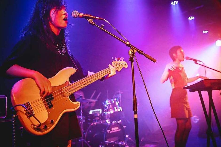 The Hormones aus China haben am Mittwoch im Jazzhaus gespielt. (Foto: Janos Ruf)