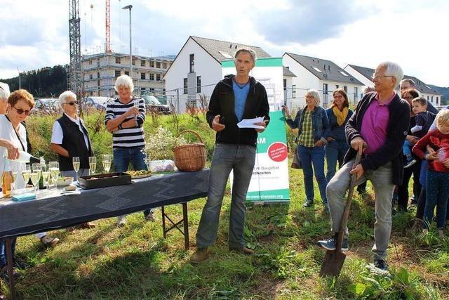 Im Kirchzartener Neubaugebiet startet das soziale Wohnprojekt Einzweidreisam
