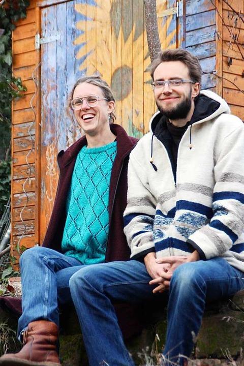 Die Initiatoren Aurélie und Jonas Meßmer.    Foto: Erika Sieberts