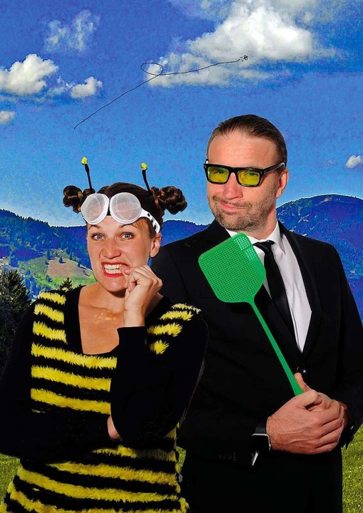 Antonia Tittel und Arndt Heuwinkel  | Foto: Theater in den Bergen