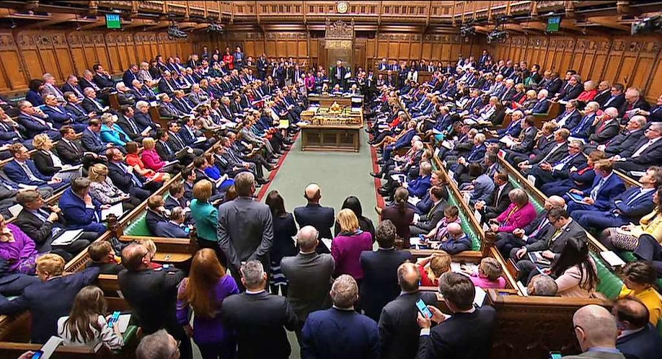 Das britische Parlament ist aktuell in der Zwangspause.   | Foto: - (dpa)