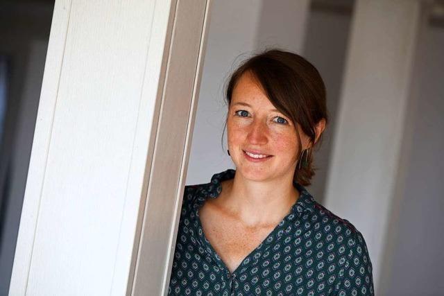 Verena Sester ist die neue Pastoralreferentin für die Seelsorgeeinheit im Ried