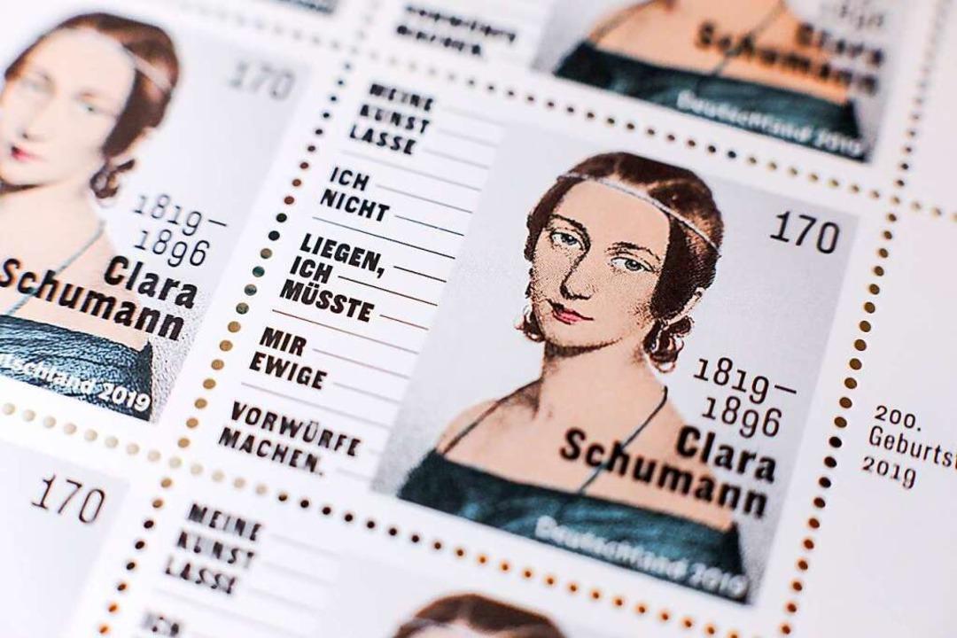 Zu   Clara Schumanns 200. Geburtstag h...n wurde am 13. September 1819 geboren.  | Foto: Jan Woitas (dpa)