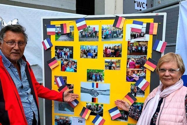 Weingarten und Straßburg-La Meinau feiern zehnjährige Partnerschaft