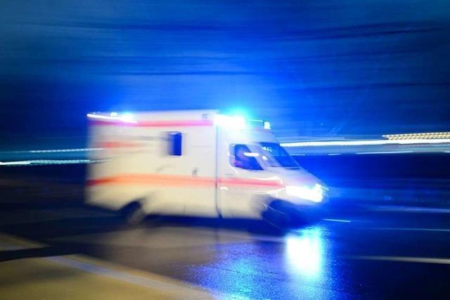 Unfall in Freiburg-Brühl löst eine Kettenreaktion aus