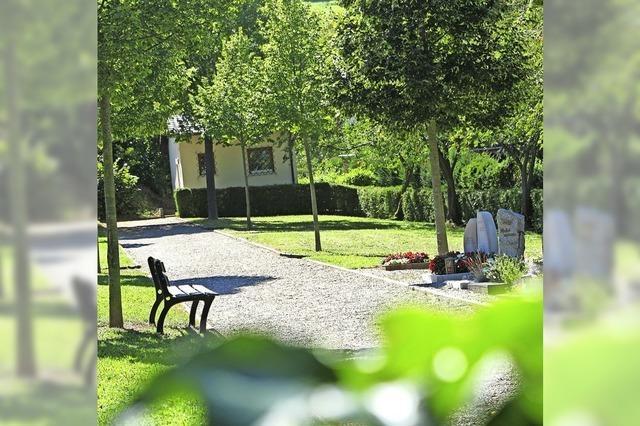 Neue Friedhofstoilette für 65 000 Euro