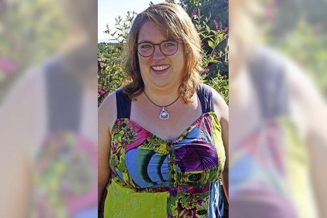 Ramona Eckert will sich für einen Jugendtreff einsetzen