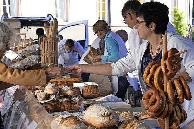 Brotmarkt in Müllheim
