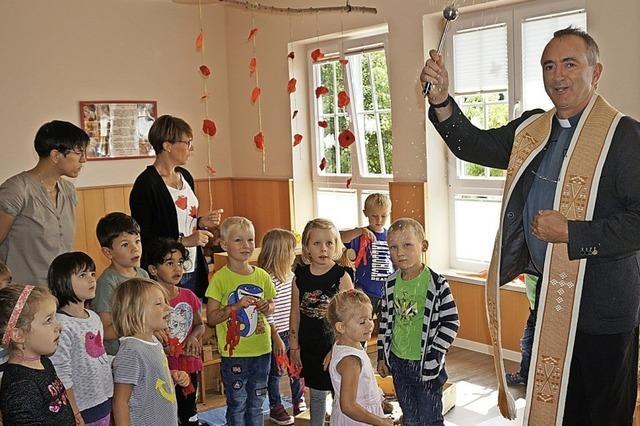 Kindergarten gesegnet