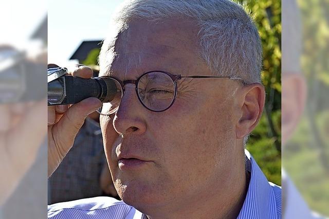 OB Dietz und seine zehn Visionen für Weil am Rhein