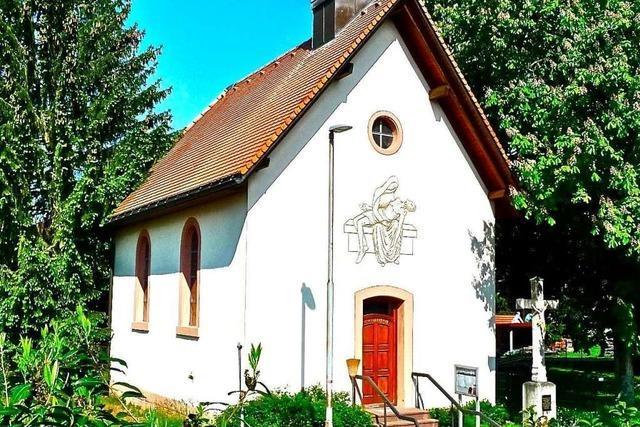 Rippolinger Kapelle ist 140 Jahre alt