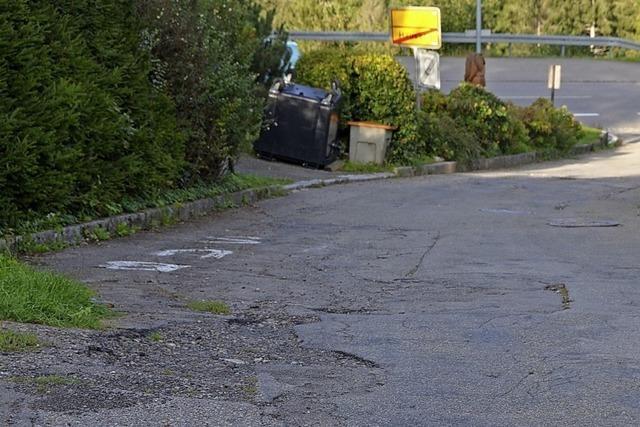 Teurer Straßenabschnitt