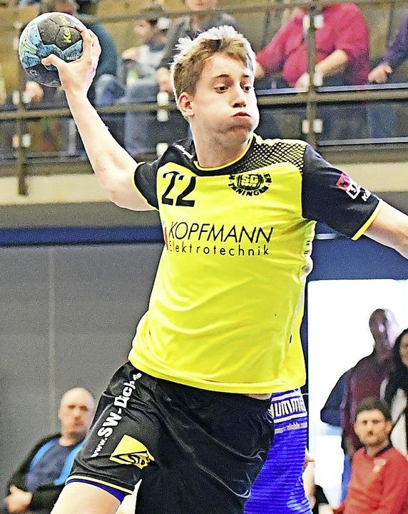 Daniel Fahrländer geht jetzt für die SG Waldkirch-Denzlingen auf Torejagd.    Foto: Achim Keller