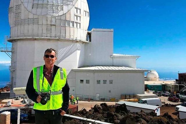 Bötzinger Astrophysiker glaubt an die Wissenschaft – und an Gott