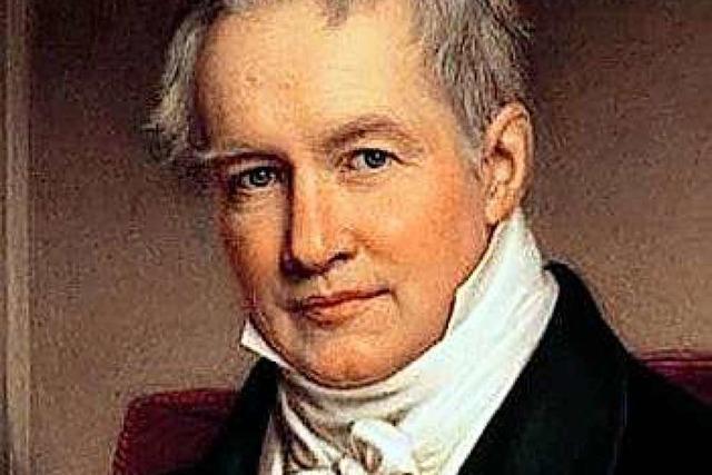 250. Geburtstag des Naturforschers Alexander von Humboldt