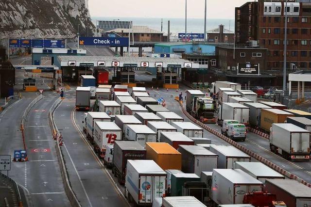 Großbritannien bereitet den Fall des No-Deal-Brexits vor