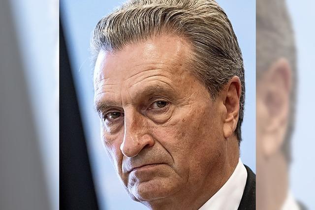 HINTERGRUND: Oettinger als Autolobbyist?