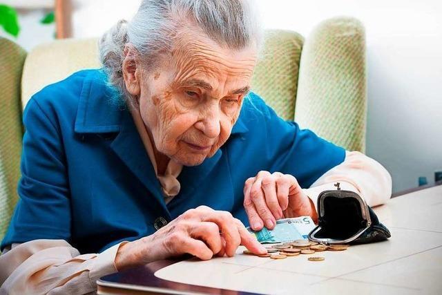 Jetzt muss der Altersarmut gegengesteuert werden