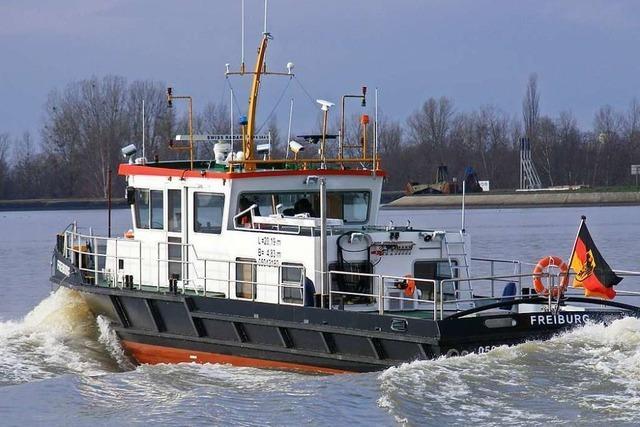 Spannender Einblick in die Arbeit des Wasserstraßen- und Schifffahrtsamts in Breisach