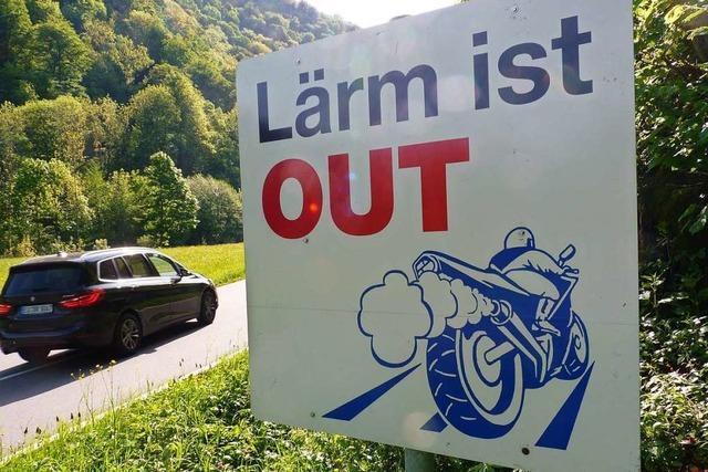 Die Belchengemeinde Wieden bittet Biker um mehr Rücksicht