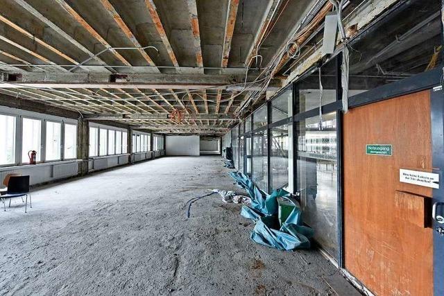Fotos: Zu Besuch auf der Baustelle im KG II vor der Sanierung