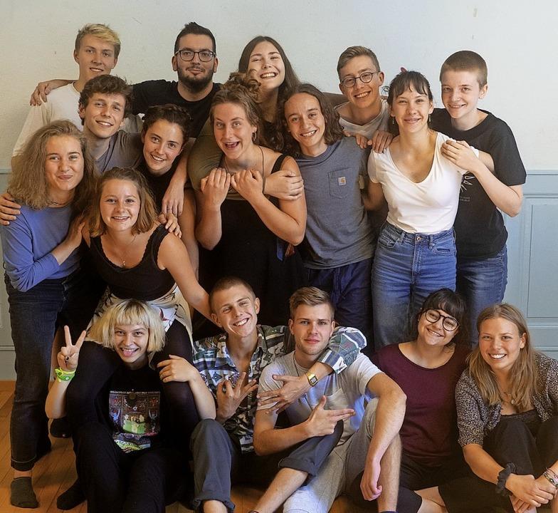 Gut gelaunt: das Tempo-Fugit-Spielzeitteam 2020  | Foto: Nadine Bahls